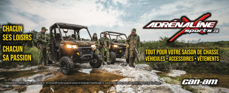 Can-Am hors route chasse